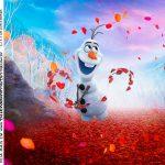 Rotulo Caixa Acrilica Frozen 2