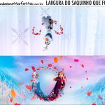 Rotulo Saquinho de Bala Frozen 2