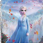 Rotulo para Caixa de Acrilico Frozen 2