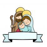 Topo de bolo Natal Menino Jesus