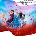 Topper Bandeirinha Kit Festa Frozen 2