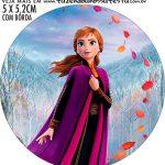 adesivo mini baleiro Kit Festa Frozen 2