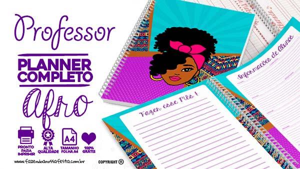 Caderno de Planejamento Mulher Afro