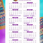 Calendario 2022 Mulher Afro