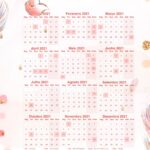 Calendario Professor Raposa 2021