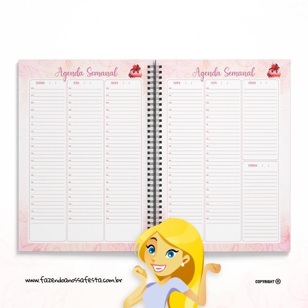 Agenda Semanal Planner Profissional