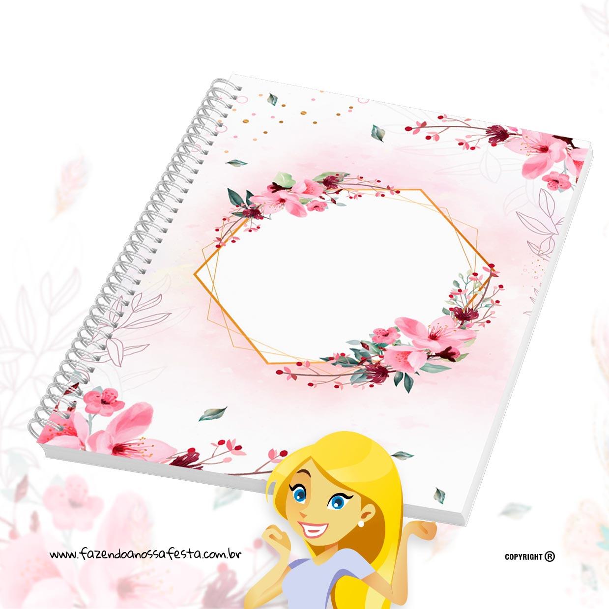 Caderno de Planejamento Floral para Professoras