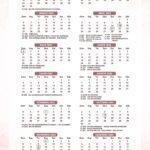 Calendario 2022 Confeiteira