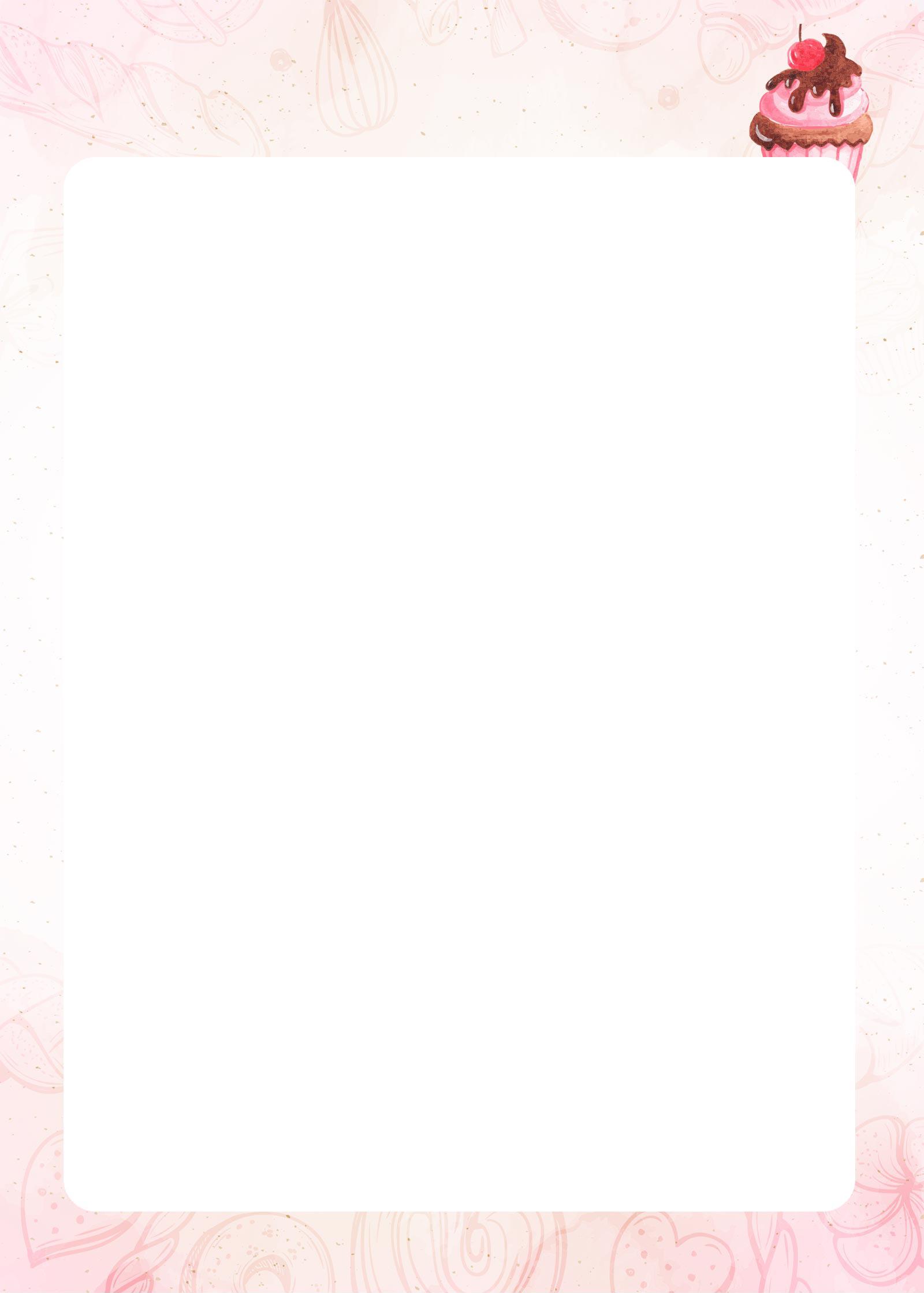 Planner da Confeiteira 2020 folha limpa