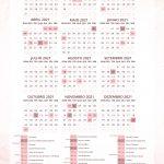 Planner da Confeiteira calendario 2021
