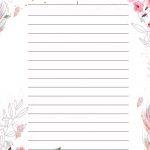 Planner para Professores Tema Floral Anotacoes de Reuniao