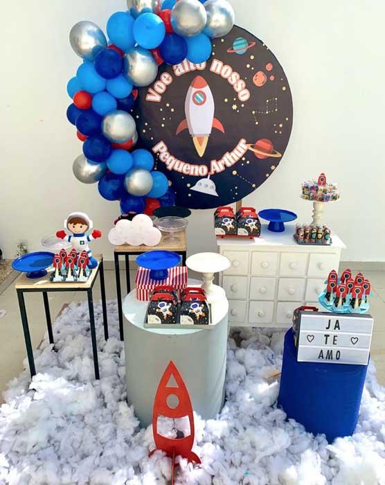 10 Decoracao Astronauta