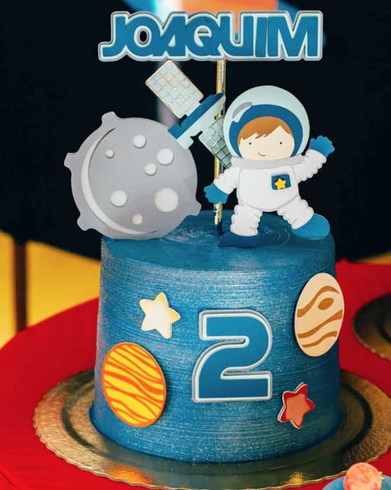 12 Ideias para Festa Astronauta