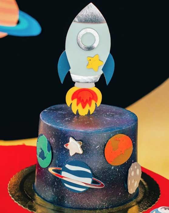 13 Ideias para Festa Astronauta