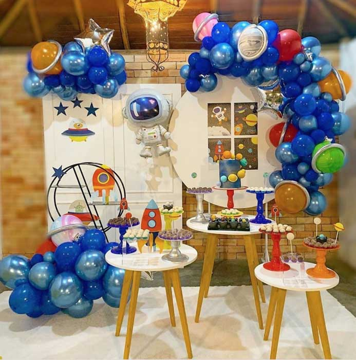 15 Ideias para Festa Astronauta