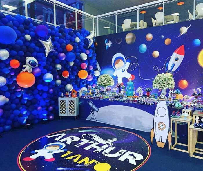 24 Festa Astronauta 40 Ideias