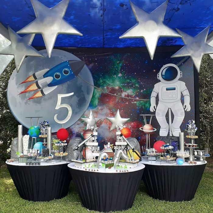 5 Ideias para Festa Astronauta