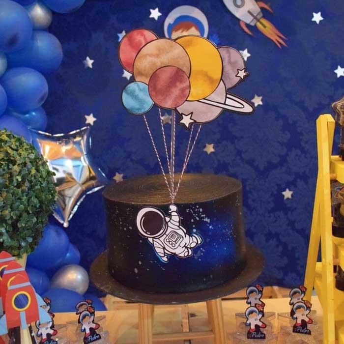 8 Ideias para Festa Astronauta