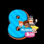 8 com personagem Mundo Bita