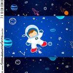 Adesivo Bala Personalizada Kit Festa Astronauta