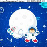 Adesivo Marmitinha Personalizada Kit Festa Astronauta