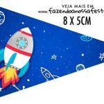 Bandeirinha Sanduiche personalizado Astronauta
