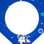 Bandeirinha Varalzinho Astronauta