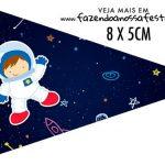 Bandeirinha para sanduiche Astronauta
