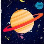 Caixa Acrilico 5x5 Astronauta