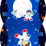 Caixa Almofada bolsinha Astronauta