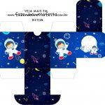 Caixa Baleiro Astronauta