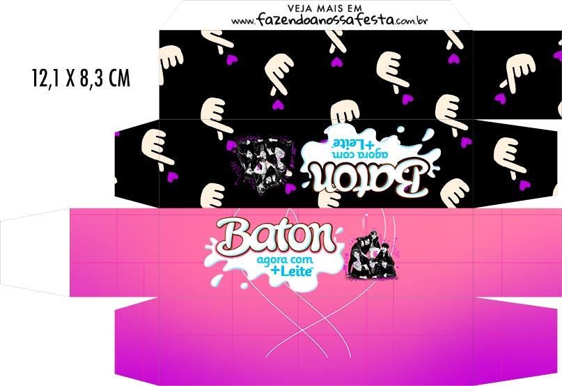 Caixa Baton BTS