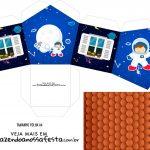 Caixa Casinha Astronauta