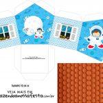 Caixa Casinha Astronauta Cute