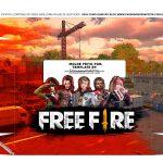 Caixa Controle de Video Game Tampa Free Fire
