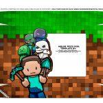 Caixa Controle de Video Game Tampa Minecraft