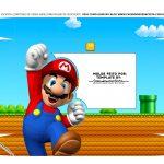 Caixa Joystick Pascoa Tampa Super Mario