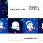Caixa Kit Colorir Astronauta