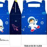 Caixa Maleta Surpresa Astronauta
