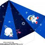Caixa Piramide Astronauta