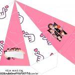 Caixa Piramide BTS Anime
