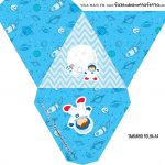 Caixa Piramide Personalizada Astronauta Cute