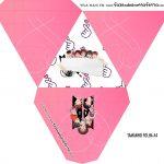 Caixa Piramide Personalizada BTS Anime
