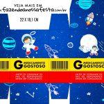 Caixinha de Remedio Personalizada Astronauta