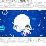 Calendario Personalizado 2020 Astronauta