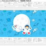 Calendario Personalizado 2020 Astronauta Cute