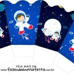 Chachepot centro de mesa Astronauta