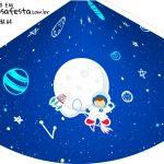 Chapeu de Festa Personalizado Astronauta