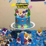 Festa Baby Shark da leitora Elida Souza