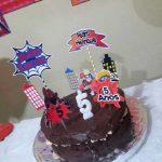 Festa Naruto e Homem Aranha da leitora Cintya Dias 2